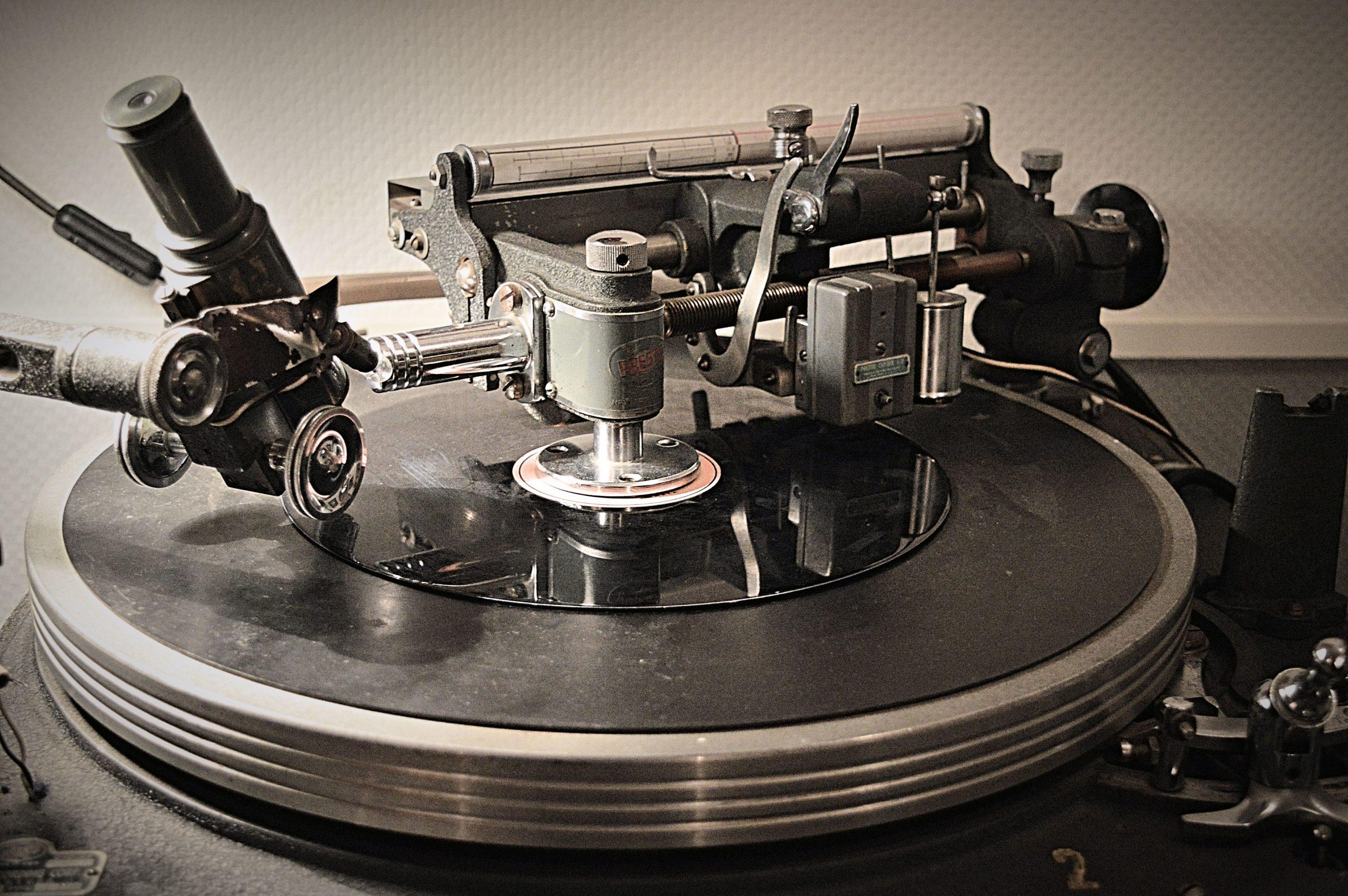 Presto 6N Record Cutter